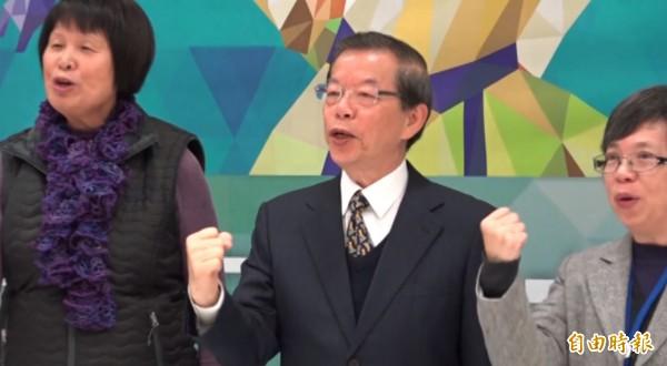 外傳前行政院長謝長廷將可能是新政府的駐日代表人選,謝長廷回應。(記者林弦儒攝)