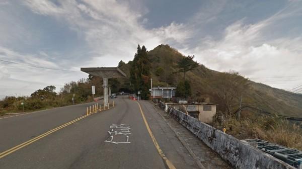 台14甲線入夜後降雪結冰機會高,翠峰(18K)至大禹嶺(41K)今晚7點起預警性封閉。(圖擷自Google地圖)