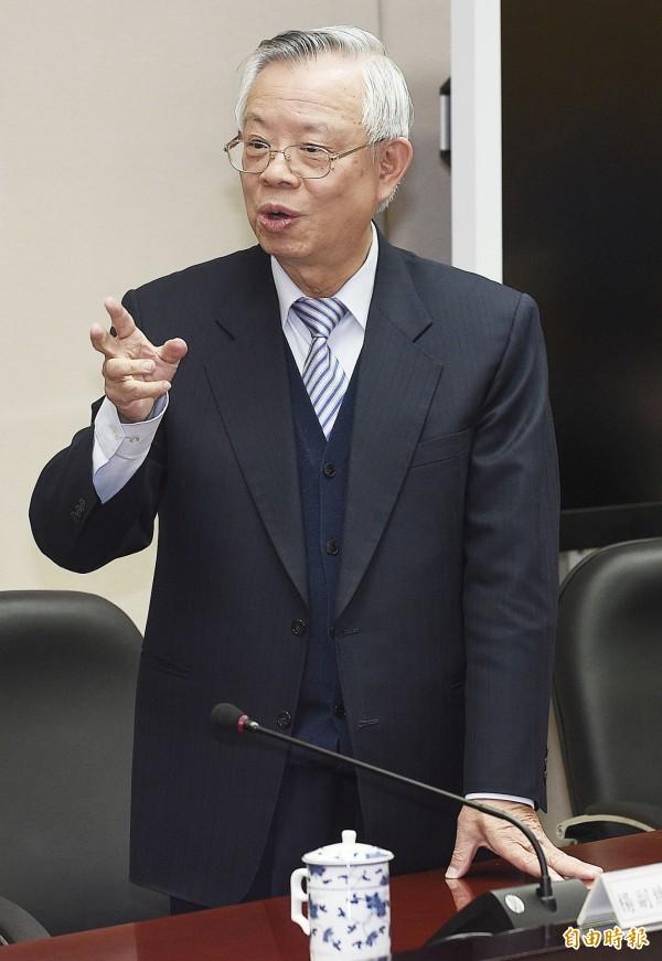 央行總裁彭淮南。(資料照,記者陳志曲攝)