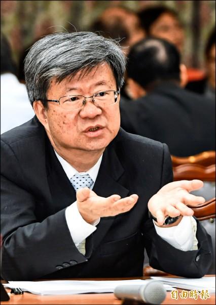 教育部長吳思華。(資料照,記者廖振輝攝)