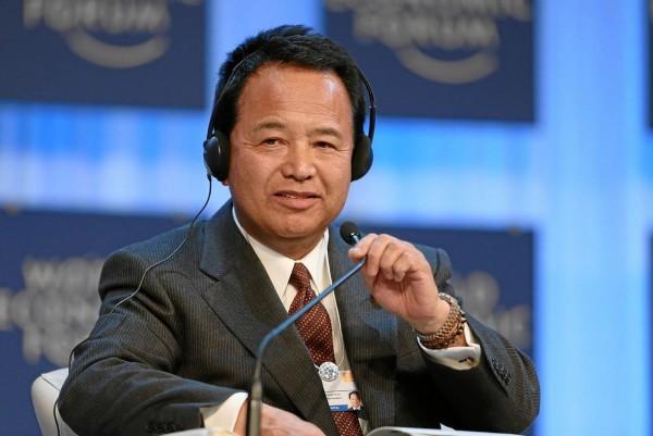 日本經濟再生擔當大臣甘利明今天閃辭。(圖擷取自維基百科)