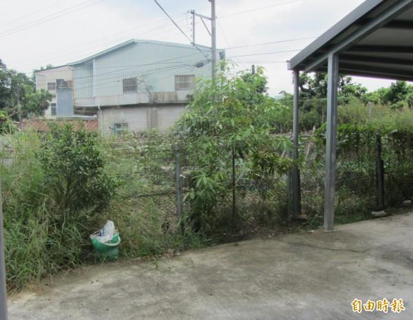 業者購買建地(如圖)欲鑿井,未與居民溝通遭撤照。(記者黃旭磊攝)