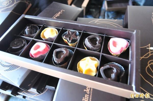 巧克力不純不能再叫巧克力。(資料照,記者李忠憲攝)