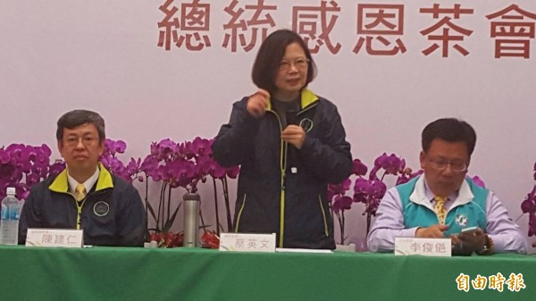 蔡英文說,雲林一直以來是國家資源分配的弱勢者,她會在上任之後,更注重區域均衡發展。(資料照,記者丁偉杰攝)
