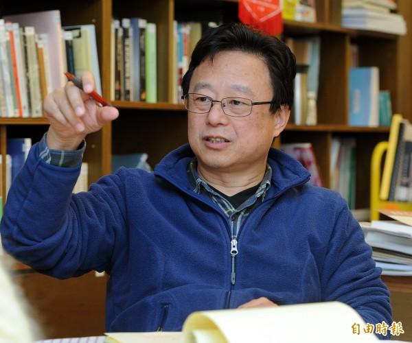 中研院社會學研究所研究員張茂桂。(資料照,記者廖振輝攝)