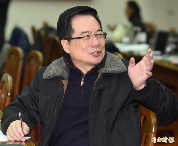 蔡正元認為國民黨真正的病因就是國民黨連續出了兩個自以為是、大權獨攬,又能力薄弱的黨主席。(資料照,記者廖振輝攝)