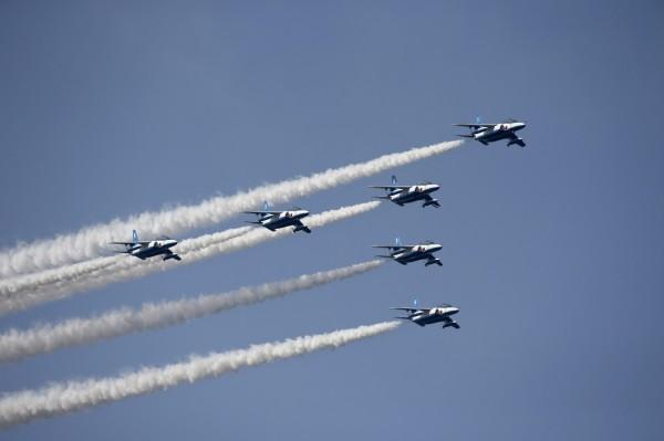 圖為日本自衛隊戰機,示意圖,與本新聞無關。(資料照,歐新社)