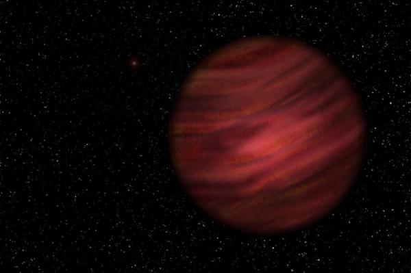英國、美國與澳大利亞三國天文學家所組成的團隊,發現一顆編號為2MASS J2126的類木行星,其公轉週期竟長達90萬年。(圖擷取自今日郵報)