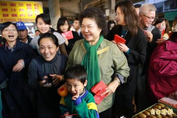 針對國混是否遷到台中的議題,高雄市長陳菊今表示,這不是誰說了就算。(資料照,記者黃旭磊翻攝)
