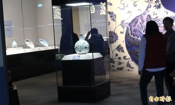故宮南院建築與展品安然度過第一次強震考驗。(記者蔡宗勳攝)