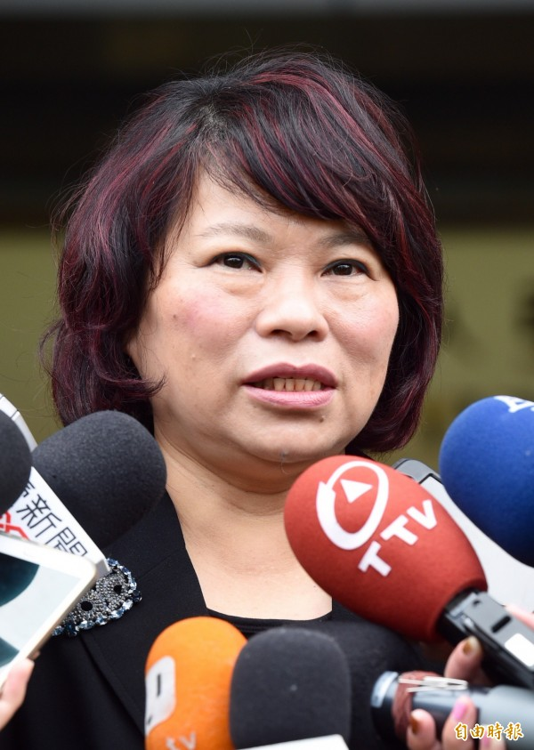 民黨代理主席黃敏惠呼籲全黨包括中央與地方從政同志,一起全力協助救災。(資料照,記者羅沛德攝)
