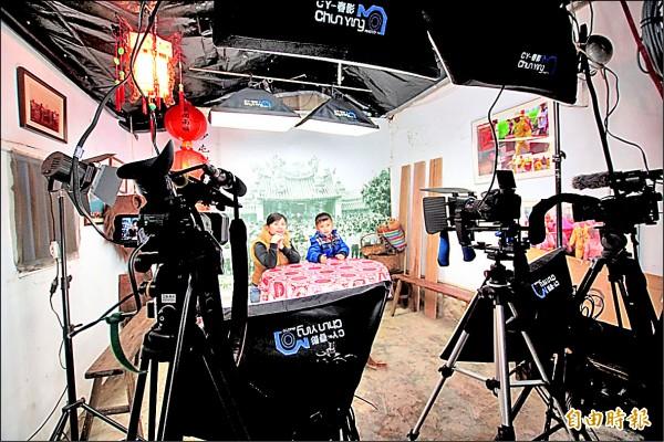 白沙屯媽祖網路電視台即將在3月開播,成為全國首家媽祖信仰網路電視台。 (記者張勳騰攝)