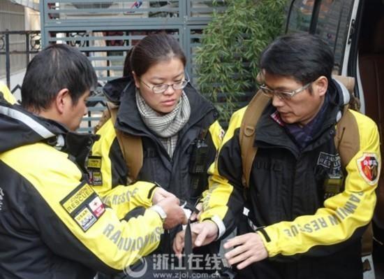 中國民間救難組織「公羊會」投入南台地震救災。(圖片轉載自《中國網》)