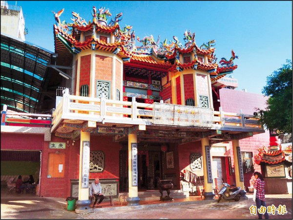 全台第一間祀奉齊天大聖孫悟空的開基廟,南市萬福庵。(記者王俊忠攝)