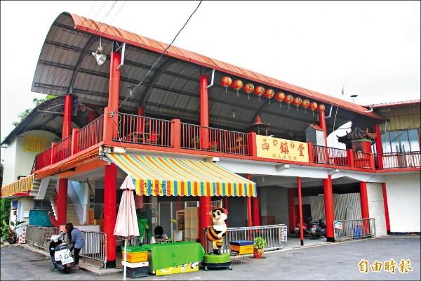 南投縣埔里鎮鐵山里西 鎮堂,是供奉齊天大聖 的廟宇。 (記者佟振國攝)