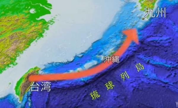 據日本最新研究指出,日本大和民族起源來自3個史前外來遷徙路程,其中一條來自沖繩群島的路線,起點更被認為就是源於台灣。(圖擷自YouTube/NMNSTOKYO)