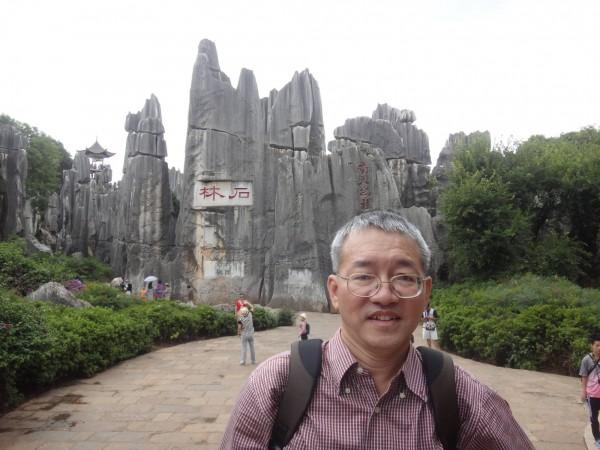 中央大學土木系教授黃俊鴻擔心政府冒然公布土壤液化潛能圖,徒造成恐慌。(圖擷取自黃俊鴻臉書)