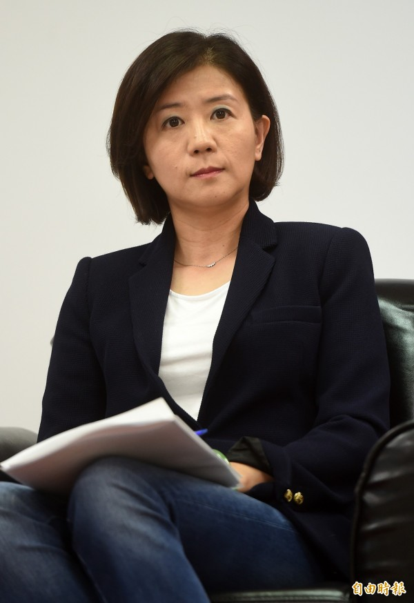 國民黨團副書記長王育敏。(資料照,記者簡榮豐攝)