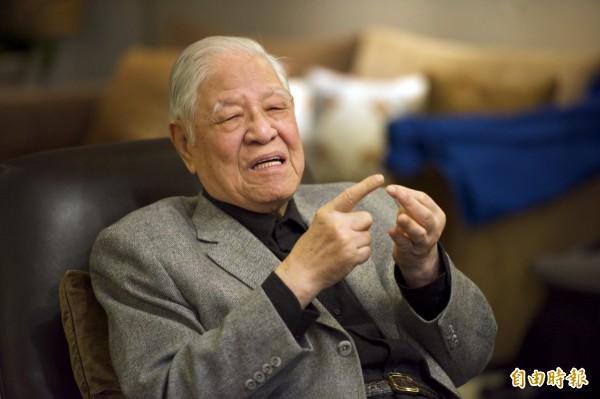 前總統李登輝近日出版新書《餘生》,在其中表示「釣魚台列嶼不歸屬台灣」,總統府則反駁這種說法「喪權辱國」。(資料照,記者陳鈺馥攝)