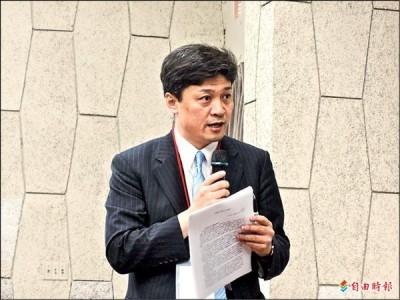日本知名的兩岸問題專家、東京大學教授松田康博建議,日本與台灣新政府加強經濟關係。(資料照,記者陳慧萍攝)