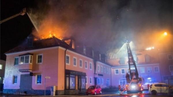 德國難民收容中心發生火警,所幸無人傷亡。(資料照,歐新社)