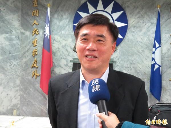 前台北市長郝龍斌批廢除國父遺像提議,是政黨意識形態、製造對立。(資料照,記者俞肇福攝)