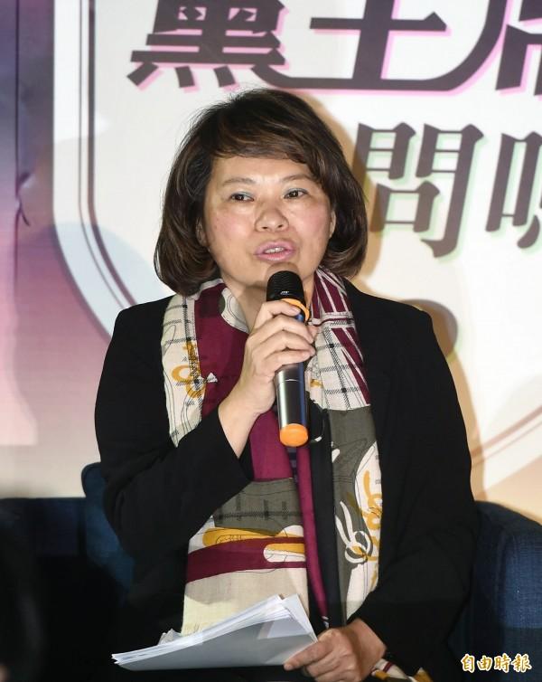 參選黨主席補選的國民黨代理主席黃敏惠今天表示,她已經以代理主席之責,聯絡號召藍軍立委,堅決阻擋民進黨的提案廢止國父遺像。(資料照,記者方賓照攝)