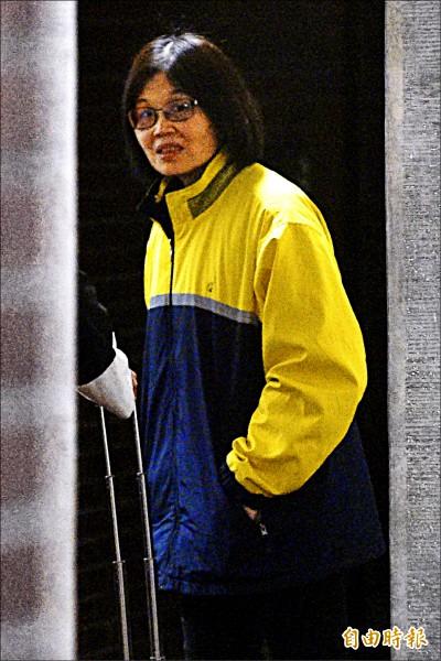 新北市汐止區公所民政課女視導王玉升,涉收賄4千萬元,被移送法辦。(記者陳志曲攝)