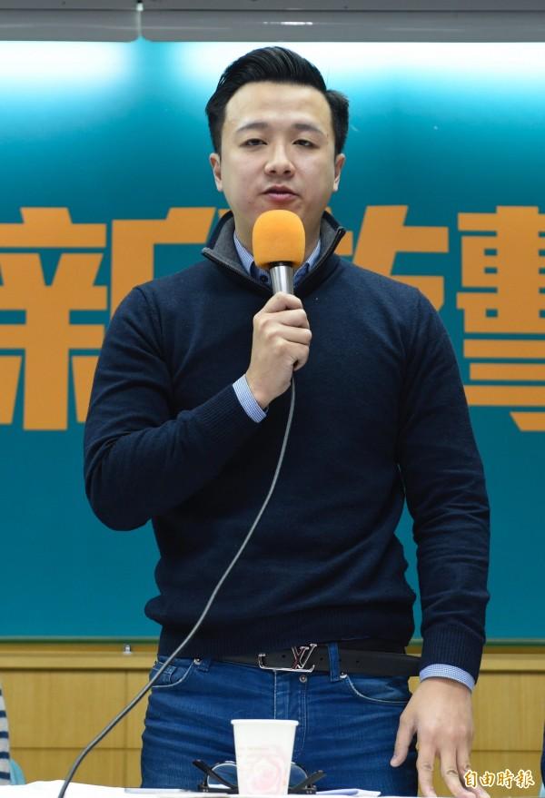 李正皓晚間也在臉書發表4點聲明,並向被影射的女性道歉。(資料照,記者叢昌瑾攝)