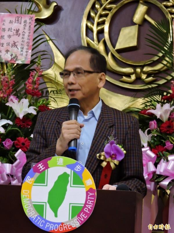 游錫堃建議國民黨一些高級幹部好好重修台灣歷史。(記者何玉華攝)