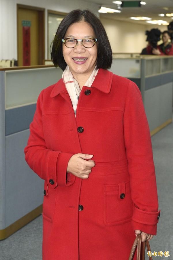 管碧玲表示,換委員會這個議題「打歪了」,她更舉當時她做重大改革時也不是「本委員會委員」為例,藉此讓黃國昌和徐永明安心。(資料照,記者陳志曲攝)