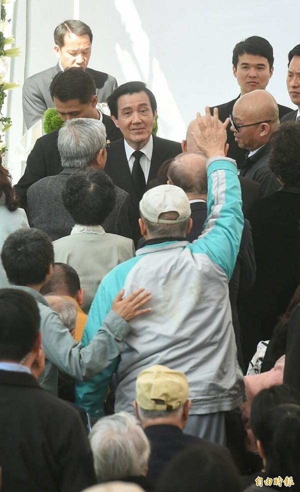 彭文正痛批,國民黨始終對228事件沒有徹底悔悟。(記者劉信德攝)