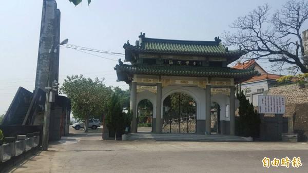 嘉義市新建動物收容所確定興建於古剎彌陀禪寺附近。(記者丁偉杰攝)