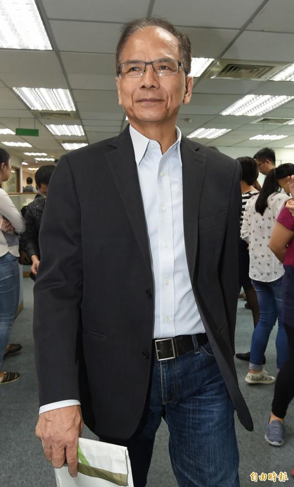 游錫堃認為中國官方的兩岸說法轉變,在於台灣人民意志影響了中國。(資料照,記者廖振輝攝)