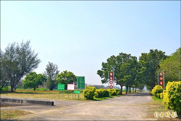 台中市政府爭取軍方釋出大里竹仔坑的「天山教練場」,做為「中台灣影視基地」第二期基地。(記者陳建志攝)