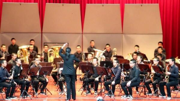 桃園少輔院管樂團,拿下全國學生音樂比賽管樂合奏特優。(桃園少輔院提供)