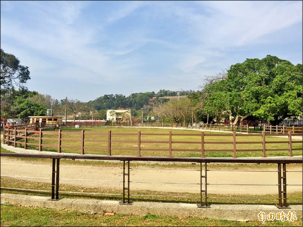 后里馬場為四大區場地之一。(記者歐素美攝)