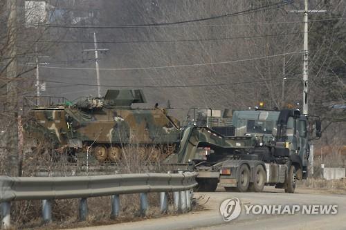 美韓大規模軍演即將展開。(圖擷取自韓聯社)