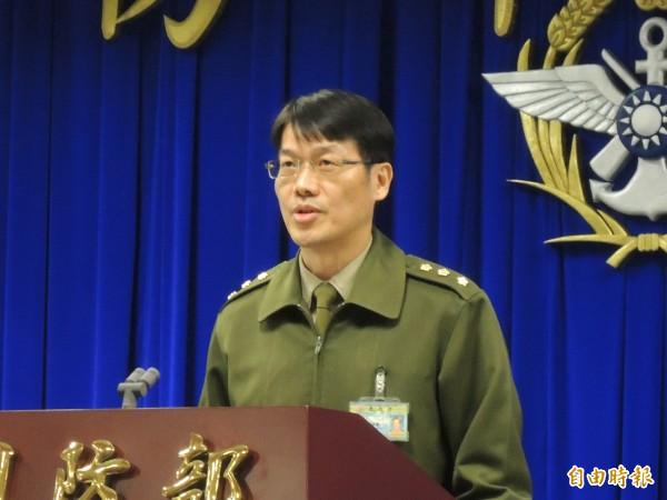 國防部保防安全處副處長詹國毅。(記者羅添斌攝)