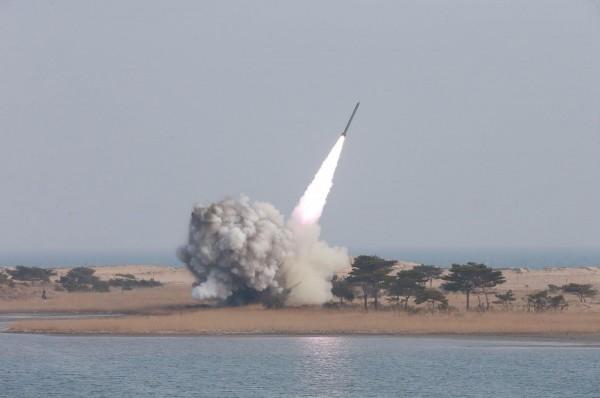 有外媒報導指出,北韓稍早再度針對美韓軍演放話,揚言將對南韓及美國本土發動「先發制人的核子攻擊」。(法新社)