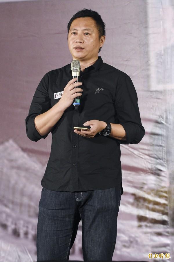 王丹過去曾參與中國六四學生運動,來台後仍關注兩岸關係,並關心台灣政治。(資料照,記者陳志曲攝)