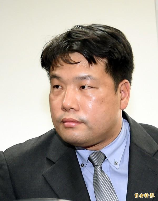 憲兵指揮部所屬台北憲兵隊隊長呂正芳上校調任憲兵指揮部諮議官。(記者方賓照攝)