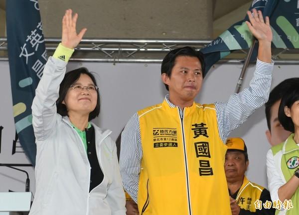 總統當選人蔡英文今天拜會親民黨主席宋楚瑜,傳出下週將拜會時代力量。(資料照,記者張嘉明攝)