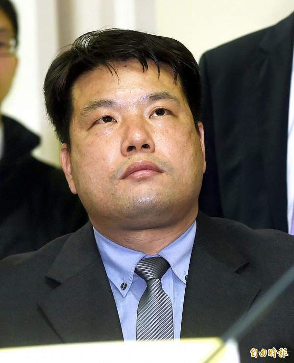 台北憲兵隊長呂正芳。(記者方賓照攝)