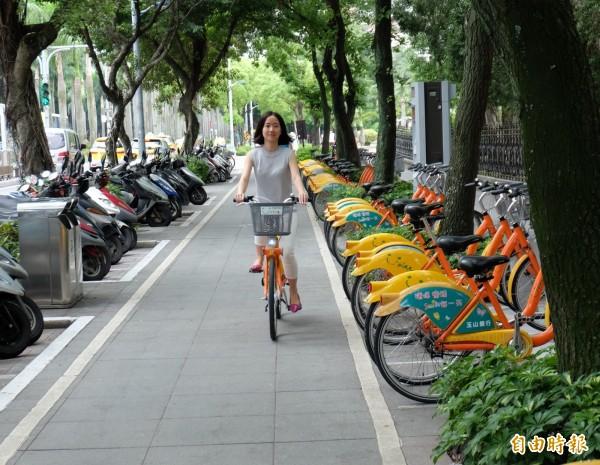 台北市交通局表示,即起啟用「文山第二行政中心」YouBike租賃站。(資料照,記者盧姮倩攝)
