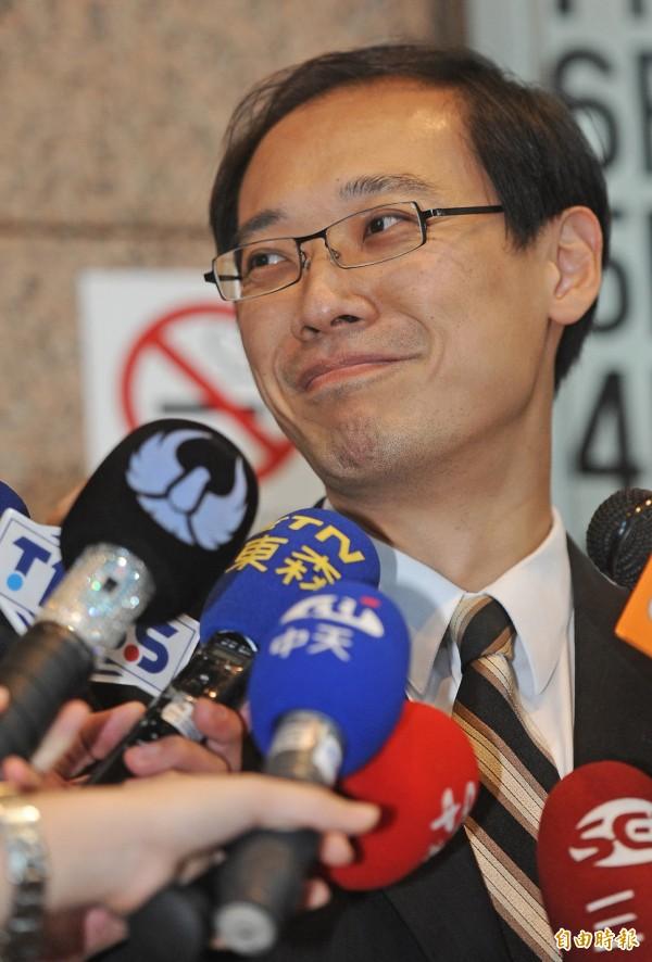 前國民黨文傳會副主委楊偉中,提出處理國民黨黨產的五個做法。(資料照,記者劉信德攝)