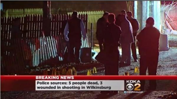 美國賓州民宅發生槍擊案。(圖片截取自《CBS》)