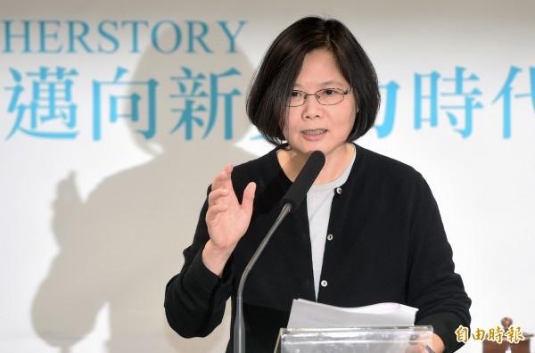 北京大學台灣研究院院長李義虎表示,中國認為蔡英文「是一名難以對付的真對手」。(資料照,記者廖振輝攝)