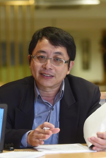 成大電機工程系教授李忠憲。(記者廖耀東攝)