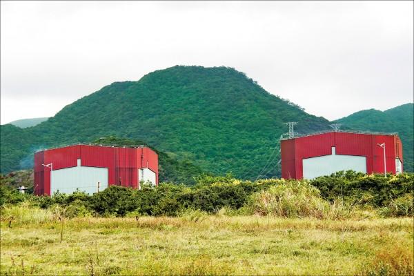 原能會證實,核一、核二廠的燃料池都已接近滿池,核廢料的貯放空間出現大問題,圖為核二廠。(資料照)